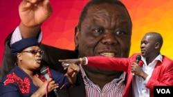 Kubangwa isikhundla sikaMnu. Morgan Tsvangirai.