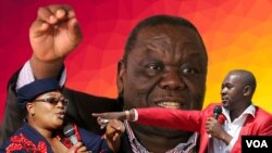 Khuphe Tsvangirai Chamisa