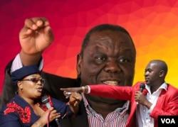 Khuphe, Tsvangirai loChamisa