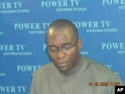 Former Liberian information minister Lawrence Bropleh