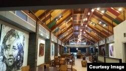 Rumah makan milik Eddy Sutrisno dengan nuansa seni di sekitar Candi Borobudur. (foto courtesy)