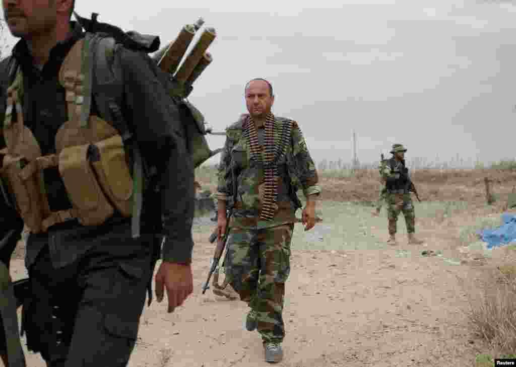 Iroq shimolidagi kurd jangarilari