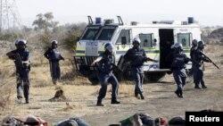 Interviention de la police contre les mineurs