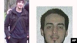 Dans cette photo non datée de combinaison fournie par la Police fédérale belge à Bruxelles le lundi 21 Mars , 2016, le suspect Najim Laachraoui est affiché.