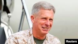 Teniente General de la Infantería de Marina de EE.UU., Thomas Waldhauser. Foto de archivo.