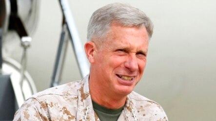 FILE - Marine Corps Lieutenant General Thomas Waldhauser, March 30, 2012.