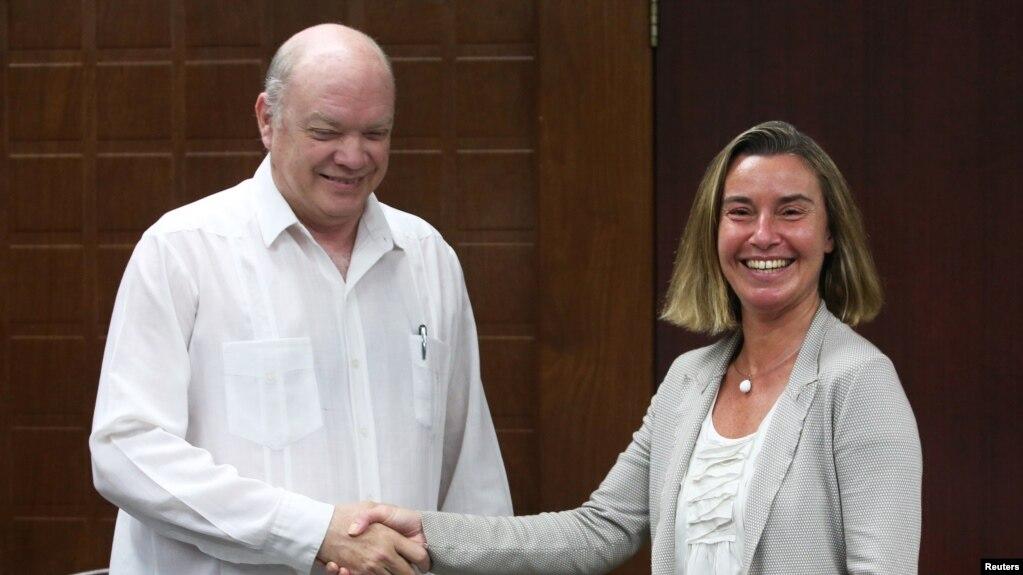 Верховный представительЕС по заграничным делам заотмену блокады Кубы