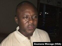 Pascal Zaida, coordonnateur de Cadre d'expression démocratique. (VOA/Zoumana Wonogo)