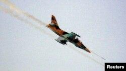 Pemerintah Suriah menggunakan jet-jet tempur dalam serangan terbarunya terhadap wilayah-wilayah pemberontak (foto: 9/8).