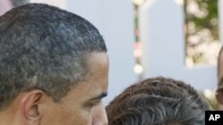美国总统奥巴马与法国总统萨科齐5月27日共进午餐之后