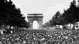 In late August, the Allied forces liberated Paris from the Germans