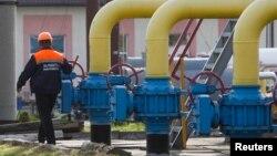 Газопровод в Львовской области Украины (архивное фото)