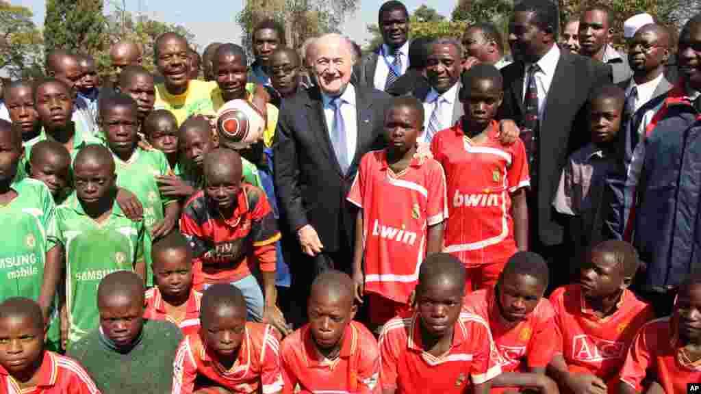 Zimbabwe Sepp Blatter