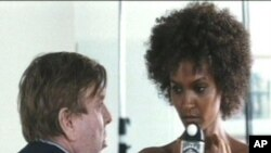 "A scene from ""Desert Flower"" with Timothy Spall and Liya Kebede."
