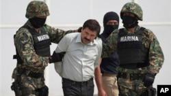 """Joaquín """"El Chapo"""" Guzmán, jefe del cartel de Sinaloa, fue capturado en México en febrero pasado."""