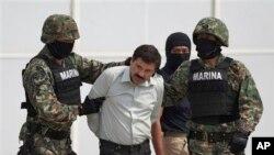 Trùm băng đảng ma túy Sinaloa ở Mexico, Joaquin 'El Chapo' Guzman, bị bắt ở Mexico tháng 2 năm nay