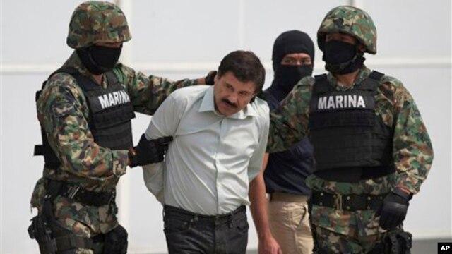 La agencia antidroga de Estados Unidos piensa que el fugitivo Joaquín