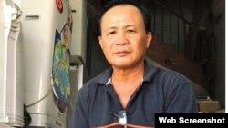 Ông Nguyễn Văn Tấn, chủ quán 'Xin Chào', kể về vụ án (ảnh chụp từ Vietnamnet)