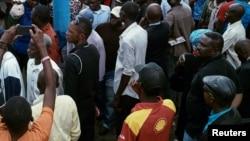Un rassemblement d'opposants à Kinshasa, 1er novembre 2016.