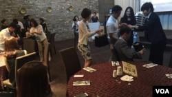 한국의 민간방송국인 '국민통일방송'이 19일 서울 서교동의 한 호텔에서 출연자의 밤 행사를 열었다.