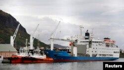 Port Louis, capitale de l'île Maurice, dans l'océan Indien, le 5 août 2015.