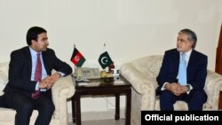 افغان سفیر کی پاکستانی وزیر خزانہ سے ملاقات