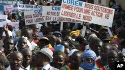 Протесты в Мали