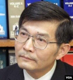 台灣外交部亞太司副司長蘇啟誠(美國之音申華拍攝)