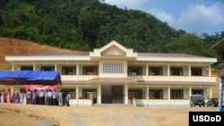 The Army Corps of Engineers built this school in Vietnam.