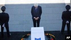 Bill Clinton era presidente de EE.UU. cuando Shimon Peres ayudó a negociar el acuerdo de paz interino con los palestinos en 1993.