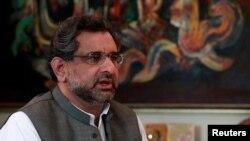 شاهید خاقان عباسی، وزیر سابق نفت پاکستان