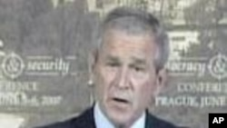 Bush On Americans Held In Iran