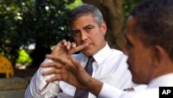 Glumac Džordž Kluni i predsednik Barak Obama