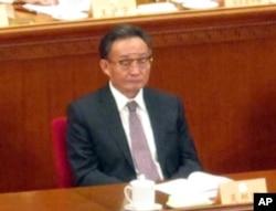 """人大委员长吴邦国在今年""""两会""""上"""