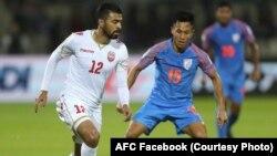 بازیکنان تیم ملی فوتبال هند و بحرین