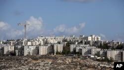以色列1967年从约旦手中夺取的东耶路撒冷犹太人社区吉罗(资料照片)