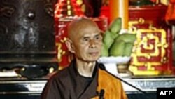 Thiền sư Thích Nhất Hạnh kêu gọi tự do tôn giáo ở VN