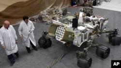 항공우주국 NASA가 선보인 탐사로봇 큐리오시티
