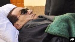 El ex presidente egipcio Hosni Mubarak ya estaba mal de salud durante el juicio en que se le condenó a cadena perpetua.