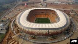 SVD Soccer City lớn nhất châu Phi ở Johannesburg, nơi sẽ diễn ra trận khai mạc World Cup 2010 giữa đội chủ nhà Nam Phi và Mexico của Bảng A vào ngày 11 tháng 6