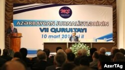 Jurnalistlərin qurultayı