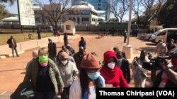 Zimbabwe activists in court