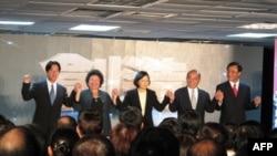 民进党五都选举候选人