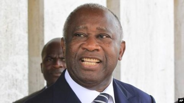 Laurent Gbagbo (file photo)