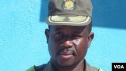 Director dos serviços prisionais no Namibe Tchinhama Samuel Jamba