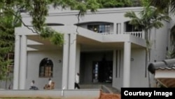 Critics say he should vacate the mansion since he is currently fighting to unseat President Robert Mugabe's Zanu PF party. (Photo/Courtesy)