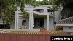 Tsvangirai and his wife moved into the mansion in September last year. (Photo/Courtesy)