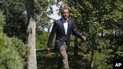 قذافی کا عہد تمام ہوا: صدر اوباما