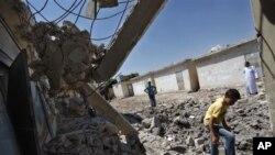 Hava saldırılarının Halep'te yol açtığı yıkım