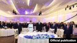 Azərbaycan Xalq Cümhuriyyətinin 100 illik yubileyi münasibəti ilə rəsmi qəbul